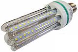 Светодиодная лампа Е27 4U 20 Вт нейтральный белый (4200К), фото 2