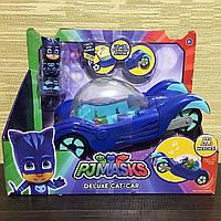 Пи Джей Герои в масках Кэт Бой с машинойДелюкс со светом и звукомPJ Masks Vehicle Deluxe Catboy Cat-Car