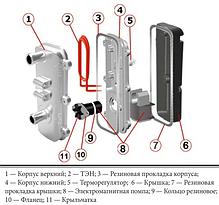 Предпусковой подогреватель двигателя с насосом АТЛАНТ, фото 3