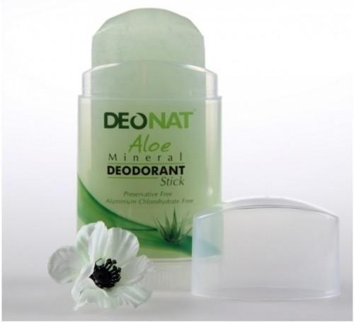 Минеральный дезодорант-кристалл Deonat с экстрактом Алоэ 100g