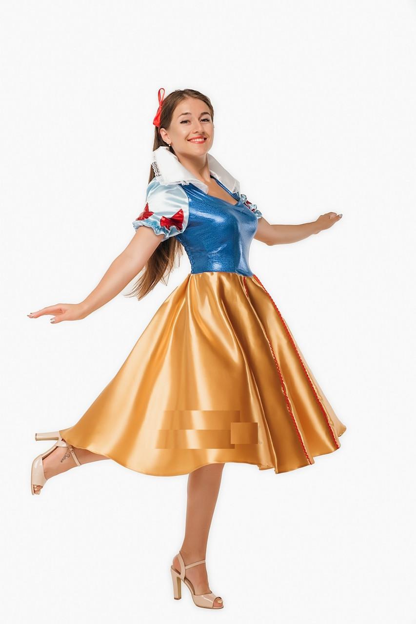 Белоснежка женский карнавальный костюм \ размер 44-48 \ BL - ВЖ288
