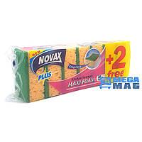 Губки для мытья посуды Novax Plus 7 шт