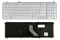 Клавиатура для ноутбука HP DV6-1000 DV6-1100 DV6-1200 DV6T-1300 DV6-2000 DV6-2100 (раскладка RU, белый, тип 1)