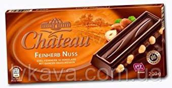 Черный шоколад  Chateau feinherb nuss , 200 гр, фото 2