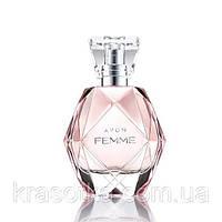 11052 Avon. Женская парфюмерная вода Avon Femme, 50 мл. Фем, Фэм Эйвон 11052