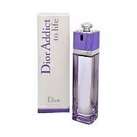 Женская туалетная вода Christian Dior Addict To Life Dior EDT 100 ml (лиц.)
