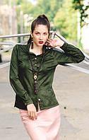 """Блуза - рубашка """"Malachite"""", фото 1"""