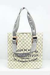 Шоппинг сумка Louis Vuitton бежевая