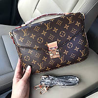 Сумка в стиле Louis Vuitton Metis. Лого, пыльник, карта!