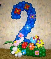 Цифра 2  и 3 из воздушных шаров, фото 1