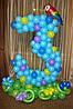 Цифра 2 и цифра 3 из воздушных шаров