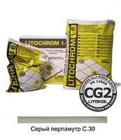 Затирка LITOCHROM 1-6 С.30 серый перламутр (5 кг)