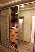 Шкаф купе 3х-дверный ширина 2200мм, глубина 450мм, высота 2400мм, для гостинной. Одесса, фото 1