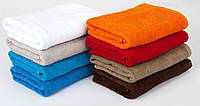 Махровые однотонные полотенца, фото 1