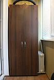Шкаф-18 с полками и вешалками для спальни или прихожей, фото 5