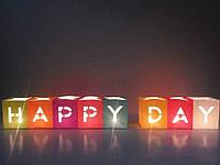 Набор Светокубиков Happy Day 8шт