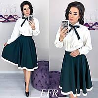 Женская юбка фасона трапеция Расцветка, фото 1