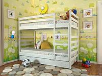 Двухъярусная кровать детская Рио