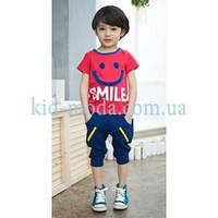 """Комплект спортивный """"Smile"""" для мальчика (футболка, шорты)"""
