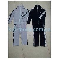 Костюм спортивный Armani с надписями по бокам (олимпийка, штаны)