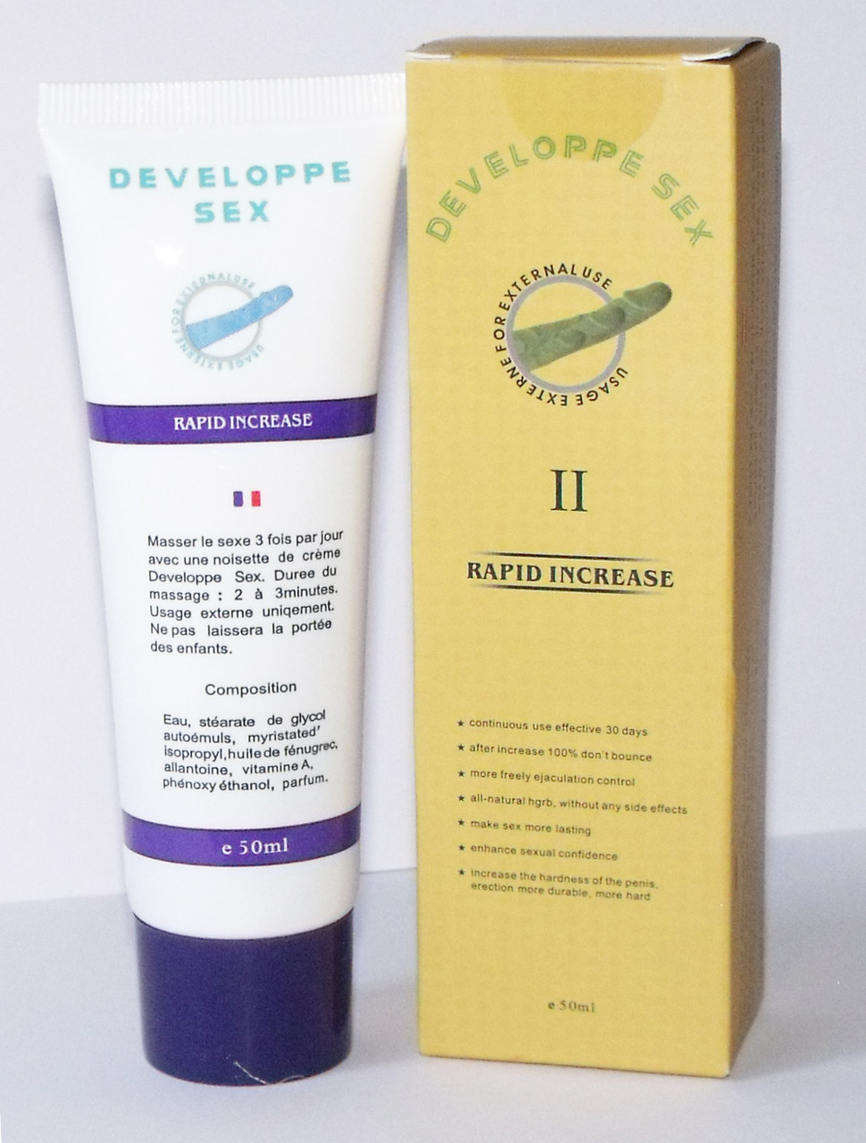 Крем для увеличения члена Developpe Sex 2, 50ml