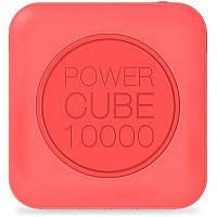 Портативная батарея MiPow Power Cube 10000 mAh Pink #I/S