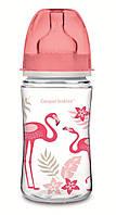 Пляшечка з широким отвором антиколикова EasyStart 240 мл коралова.