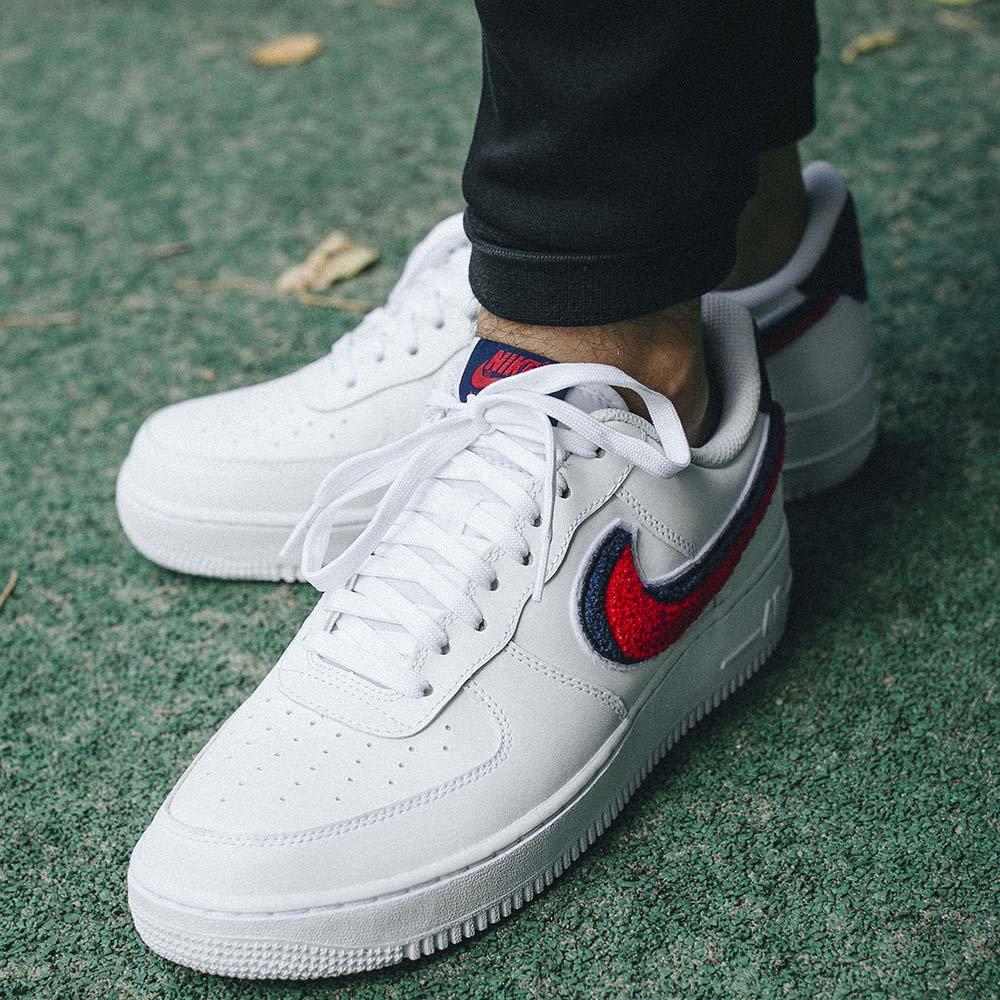 Оригинальные мужские кроссовки Nike Air Force 1 07  LV8  продажа ... a9c78d58d5fb1