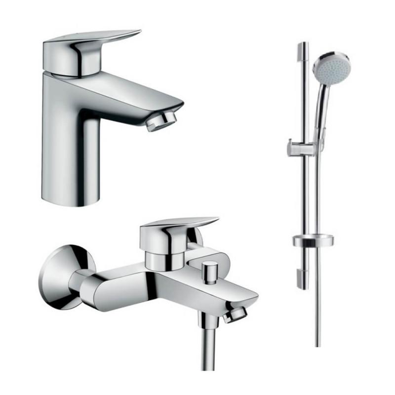 Hansgrohe Logis 100 71400111 набор смесителей для ванной