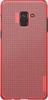 Чехол-накладка Nillkin Air Case Samsung Galaxy A8 Plus (SM-A730) Red #I/S
