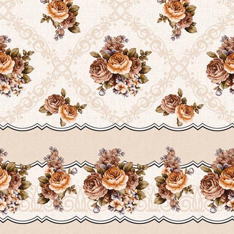 Скатерть-клеёнка рулонная на флизелиновой основе на стол и стену, фото 2