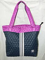 """Сумка стеганая женская """"Adidas"""" спортивная сумка Адидас"""