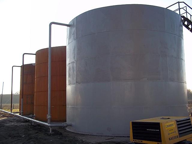 Изготовление и монтаж резервуар рвс-400