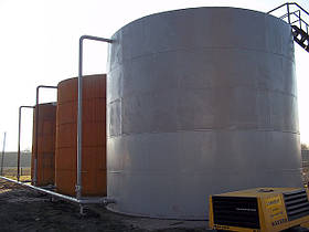 Виготовлення та монтаж резервуар рвс-400