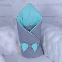 Деми конверт-одеяло Mini (ментол)