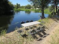 """Двойной складной набор для пикника """"Кемпинг K2+8"""" ( 2 стола и 8 стульев)"""