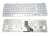 Клавиатура для ноутбука HP DV6-1000 DV6-1100 DV6-1200 DV6T-1300 DV6-2000 DV6-2100 (раскладка RU, белый, тип 2)