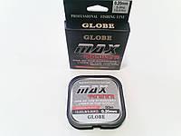 Леска Globe Max power 30м 0.20мм WH, фото 1