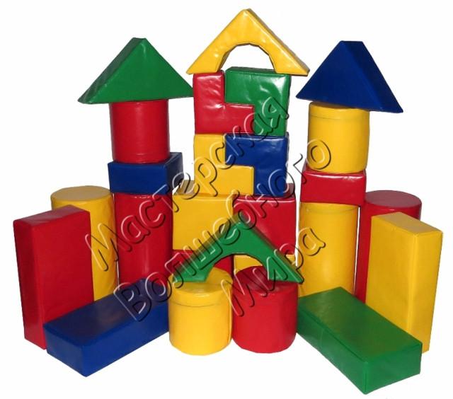 Детские надувные и мягкие конструкторы