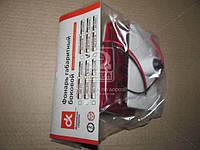 Фонарь габаритный  боковой  груз. авто, автобусы, прицепы 24В (красный) (светодиод)