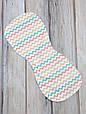 Полотенце для гигиены новорожденного, Цветной зигзаг, фото 2