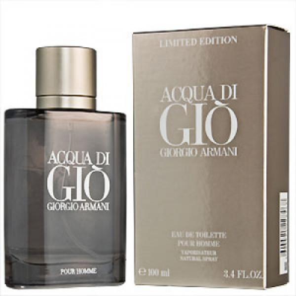 Мужская туалетная вода Giorgio Armani Acqua di Gio Limited Edition (пряный, цитрусовый аромат) копия