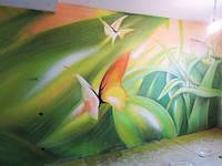 Художественное граффити оформление Киев