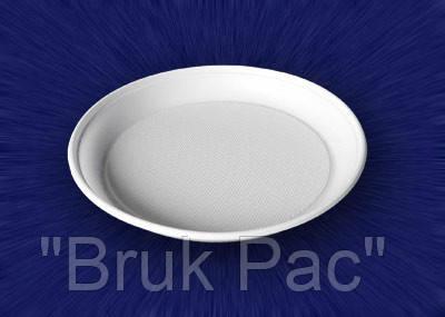 Тарелка одноразовая 20,5 см./100 шт.