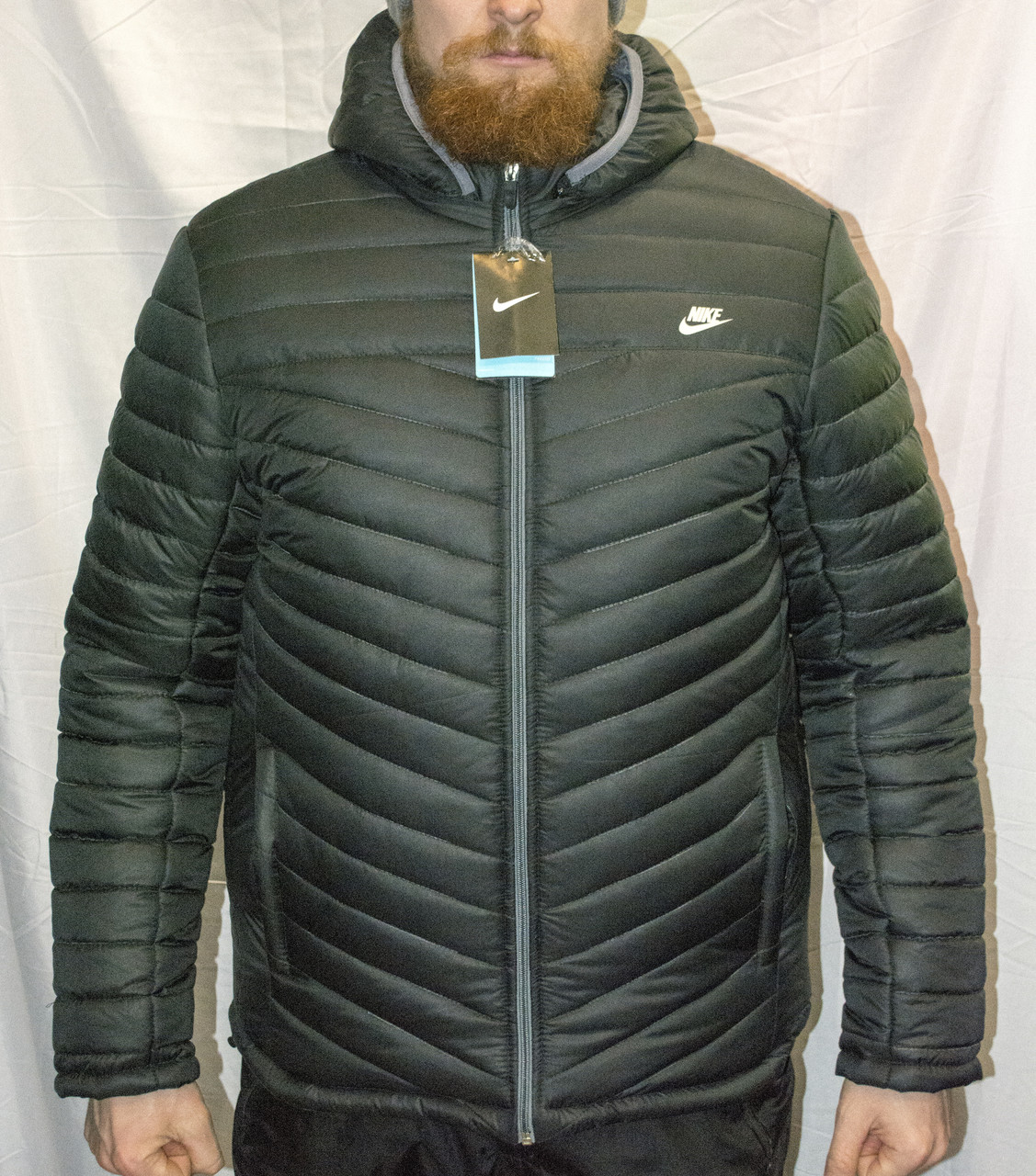 7ad11191 Мужская зимняя куртка Nike, теплая куртка Найк копия , цена 1 020 ...