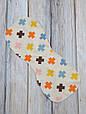 Полотенце для гигиены новорожденного, Плюсики, фото 3