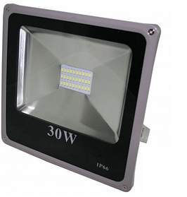 Светодиодный led прожектор 30 Вт smd5730 6500К