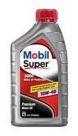 Полусинтетическое моторное масло Mobil Super 5000 10w40, фото 1