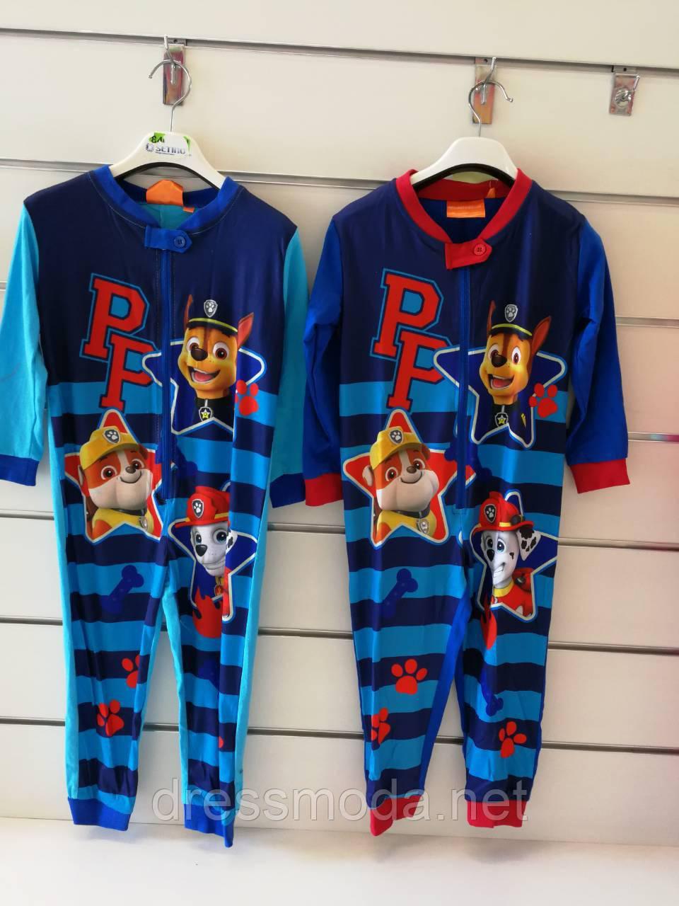 Пижама для мальчиков Paw Patrol 98-128 р. р.