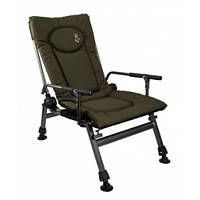 Кресло карповое Elektrostatyk F5R с подлокотниками